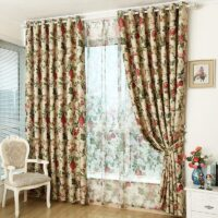 curtains for finished fabrics special clearance upscale bedroom living room European-style garden