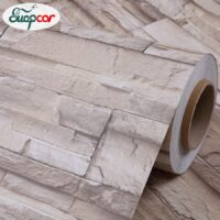 Self Adhesive PVC Brick Wallpaper For Living Room TV Background Wall Decals Diy Home Decor Kitchen Waterproof Decorative Sticker
