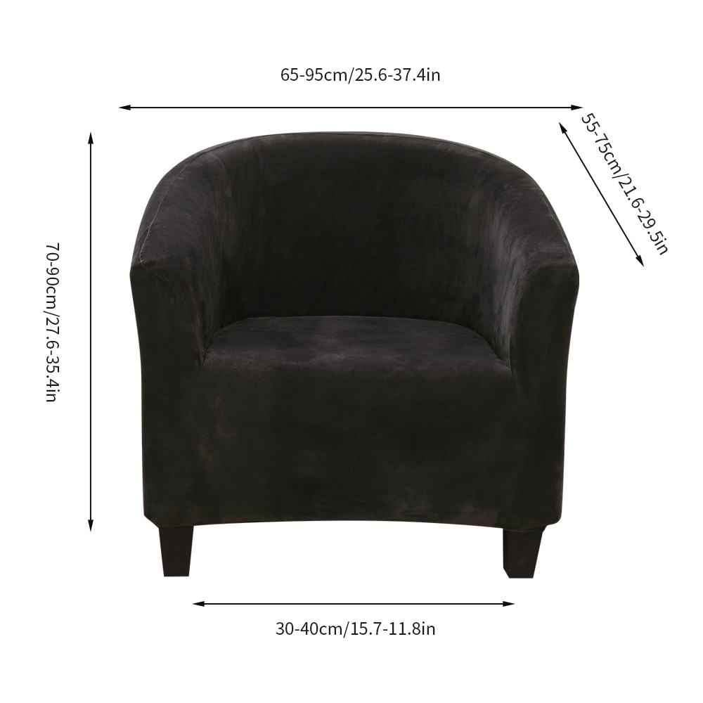 1 Seat Sofa Slipcover Stretch Cover for Armchair Sofa Couch Living Room Single Seater Furniture Elastic Couch Armchair Cover