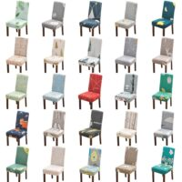 Dining Chair Cover Spandex Stretch Slipcover Office Chair Seat Cover For Computer Chairs Slipcover Chair Wedding Chair Cover