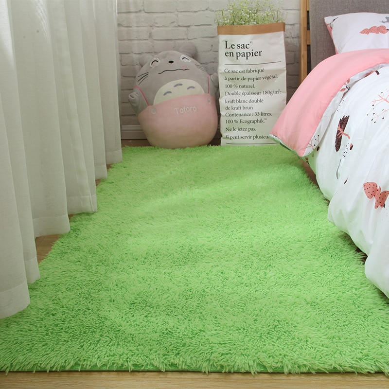 Soft Carpet Living Room Bay Window Homemodern Child Entrance Hall Girl Bedside Hairy Nordic Shaggy  Large Size Short Hair Rug
