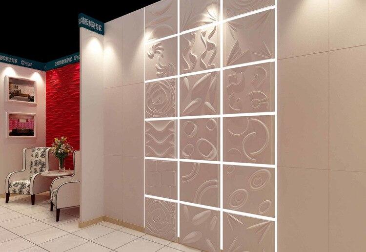 3D Wall Panel Rose Flower Design Wall Decoration Sticker