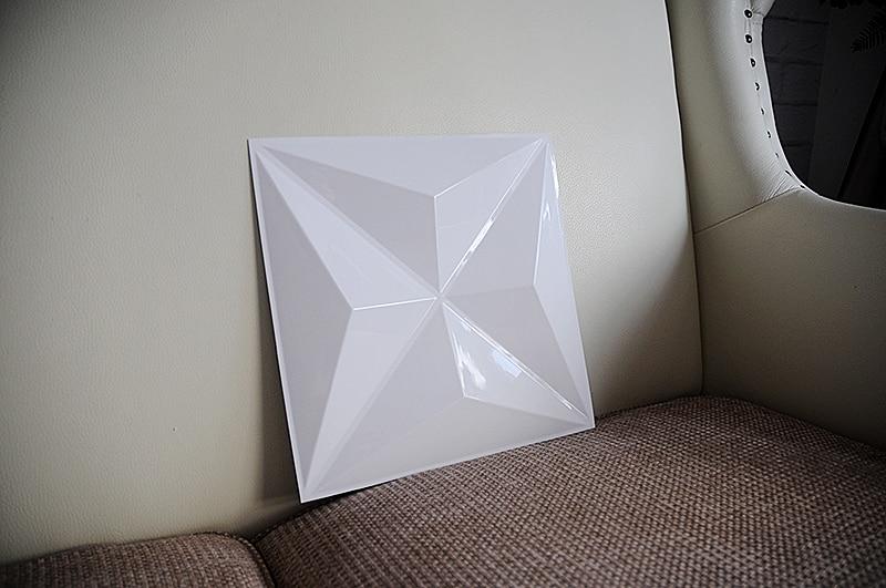 3D Plastic Wall Panel Wall Decor
