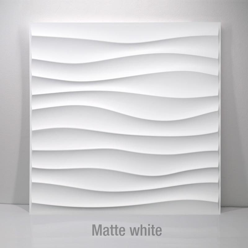 30x30cm 3D Tile Wall Panels Wall Art Decor 3D Wall Sticker